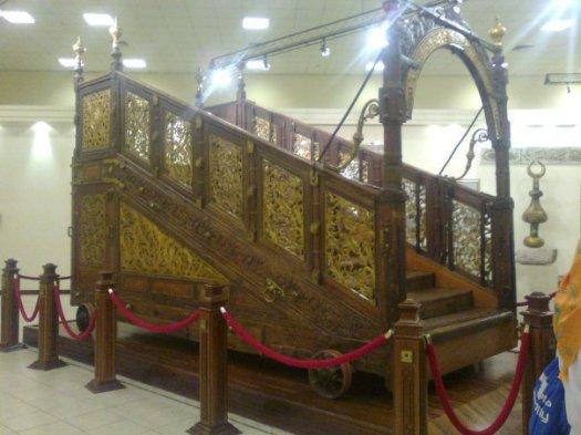 tangga menuju ka'bah