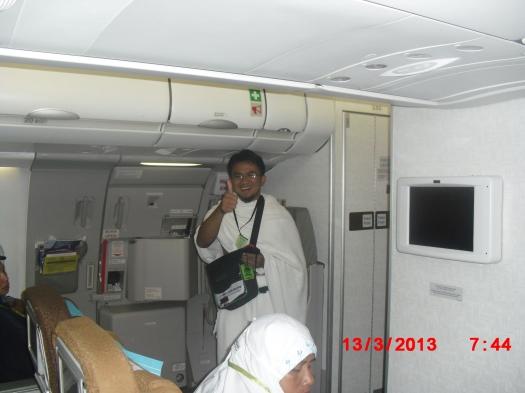 ihram di pesawat