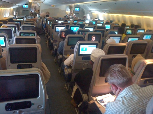 kabin emirates airlines