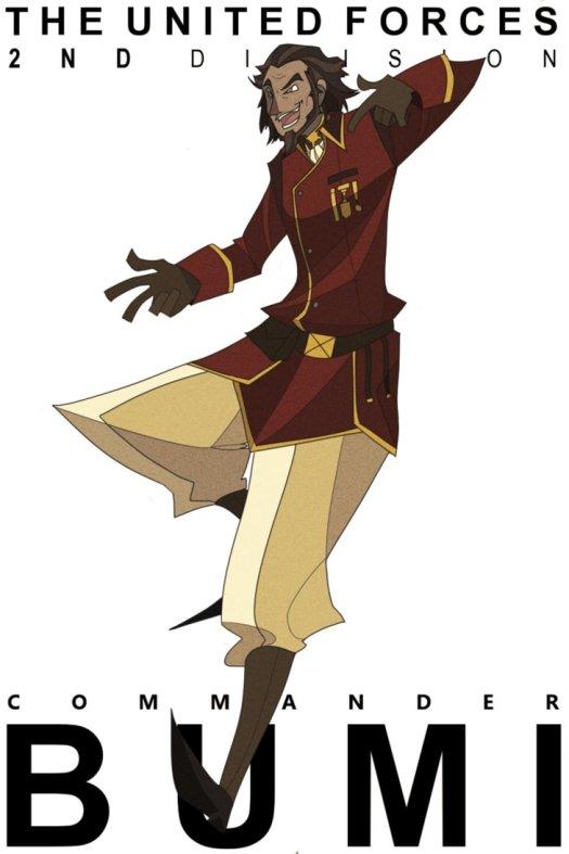 commander bumi